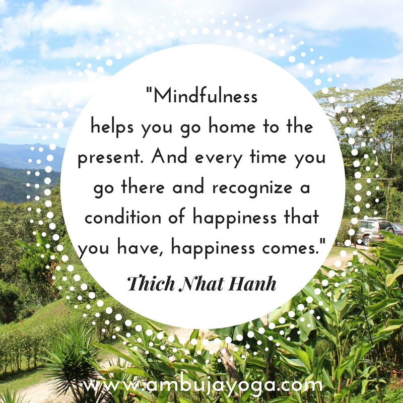 Time To Go Home Quotes: Thich Nhat Hanh Quote For Yoga Class