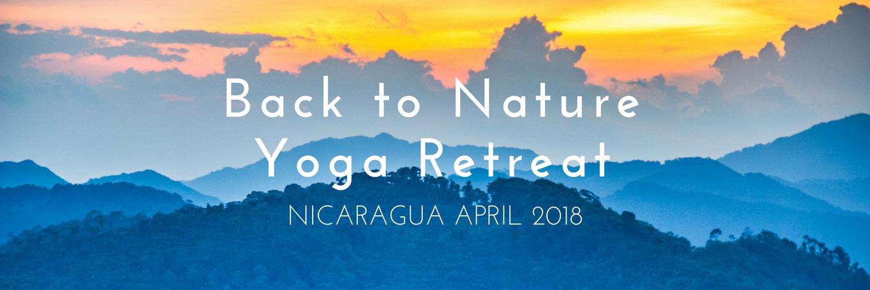 Nicaragua yoga retreat April 2018