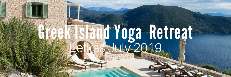 Europe yoga retreat in Greece July 2019