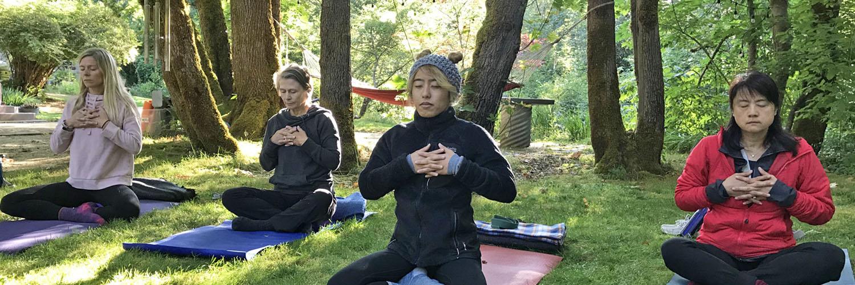Oregon yoga retreat September